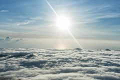 Little heaven above the sky royalty free stock image