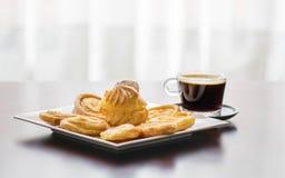 Photo tout préparée de produits colombiens de boulangerie première Images libres de droits