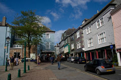 Totnes centre Stock Image