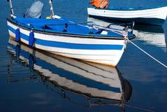 A photo traditional fishing boat at Halkidik peninsula Royalty Free Stock Photos