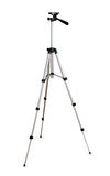 Photo tripod isolated on white Royalty Free Stock Images