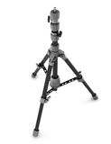 Photo tripod  on white background. 3d rendering Stock Photography