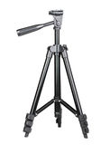 Photo-tripod on white Stock Photography