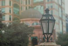 Photo of Turned Off Black Street Lantern Stock Image