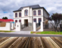 Photo Unfocused de maison Images stock