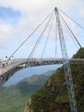 Photo unique hanging bridge in Malaysia Royalty Free Stock Images