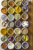 Photo of various spices all over the world Royalty Free Stock Photos