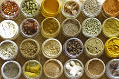 Photo of various spices all over the world Royalty Free Stock Images