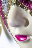 Photo of the Venetian mask Royalty Free Stock Images