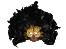 Photo of venetian mask over white Royalty Free Stock Photo