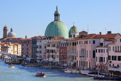 Photo of Venice with blue sky Royalty Free Stock Photography