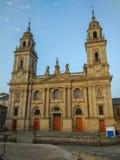 Photo verticale de façade de cathédrale Catedral d du ` s de St Mary image libre de droits