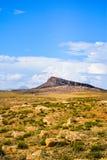 Photo verticale de paysage de nature sauvage de tissemsilt en Algérie au jour ensoleillé de 2018 octobre image libre de droits