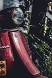 Photo of Vespa Motor Scooter royalty free stock photography