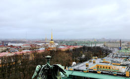 Photo view of Saint Petersburg Royalty Free Stock Photography