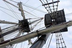 Pirate ship. Photo of vintage pirate ship Royalty Free Stock Photo