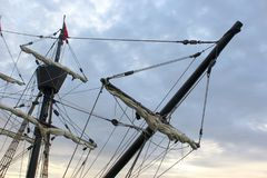 Pirate ship. Photo of vintage pirate ship Royalty Free Stock Photography