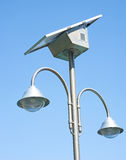 Photo-voltaic lighting. Stock Image
