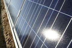 Photo voltaic panel Royalty Free Stock Photos