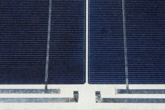 Photo voltaic panel Royalty Free Stock Images