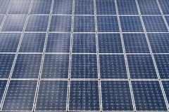Photo voltaic solar panels baclground Stock Images
