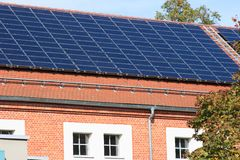 photo-voltaisch Stockfoto