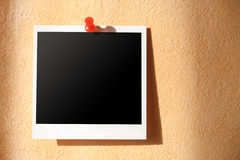 Photo on  wall Royalty Free Stock Images