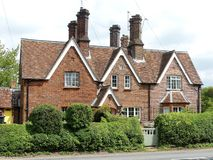 Cottage at 9 Latimer Road, Chenies royalty free stock photo