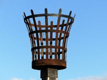 Fire beacon, Chenies stock images