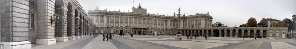 Spanish Royal palace, Madrid, Spain royalty free stock photography