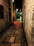 Small alleys big history royalty free stock photography