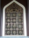 Islamic window frame Royalty Free Stock Images