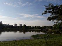 Taman Tasik Seksyen 7 Shah Alam stock image