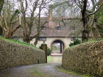 Driveway leading to Otford Manor, Otford royalty free stock photography