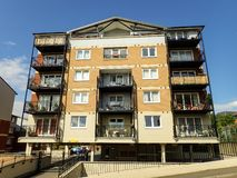 Apartment block, Penn Place, Northway, Rickmansworth royalty free stock images