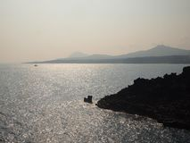 This photo was taken at the seaside in Jeju Island, South Korea. stock image