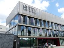 The Wilfred Brown Building, home to the College of Engineering, Design and Physical Sciences, Brunel University London stock photo