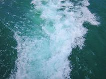 Photo of Water Passed by a Boat Royalty Free Stock Photo