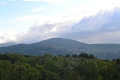 Welsh Hills. Photo of the welsh hills taken in Conwy Royalty Free Stock Photo