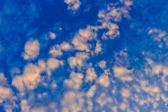 Photo of White Cloud Blue Skies royalty free stock photo