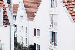 Photo of White Concrete Houses at Daytime Royalty Free Stock Photography