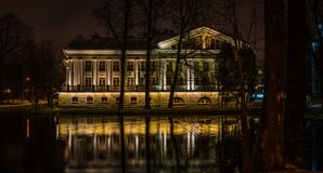 Photo of White House Near Body of Water Stock Images