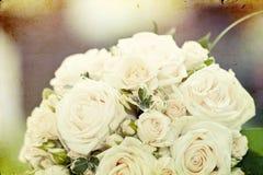 Photo of white wedding bouquet Royalty Free Stock Photos