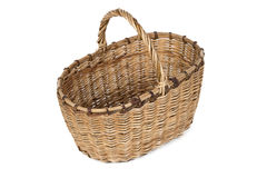 Photo of wicker basket Stock Photography