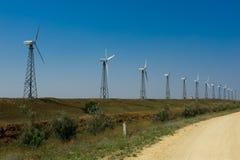 Photo wind generator Royalty Free Stock Photo