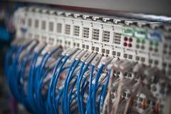 Photo of wiring (wirework). Royalty Free Stock Photos