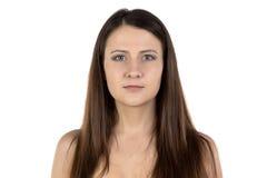 Photo of woman looking at camera Royalty Free Stock Photos
