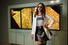 Photo of Woman Wearing Sunglasses Stock Photos