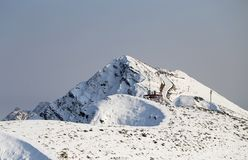 Photo of wonderful peaks of mountains Royalty Free Stock Photo