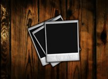 Photo on wood Royalty Free Stock Images